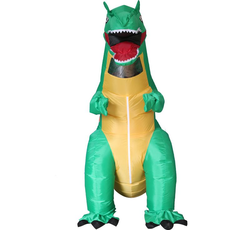 Inflatable T Rex Dinosaur Party Costume for Adults   Buy Specialty & Novelty Items