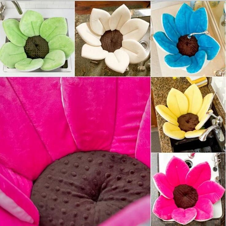 Flower Bath Cushion For Babies 0-6 M