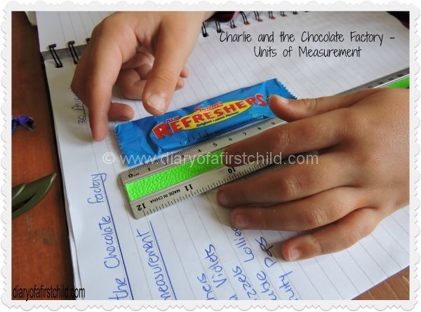 Charlie And The Chocolate Factory – Units of Measurement | Diary of a First Child