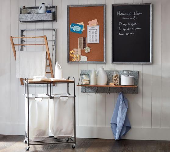 Galvanized Laundry Drying Rack Galvanized Shelves Laundry
