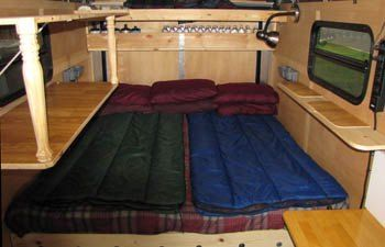 Building a homemade camp trailer