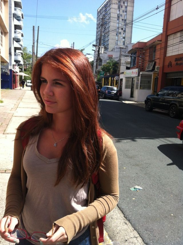 Medium Auburn Hair Color