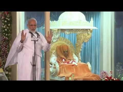 PM Narendra Modi Speech and Darshan At BAPS Sarangpur On Pramukh Swami M...