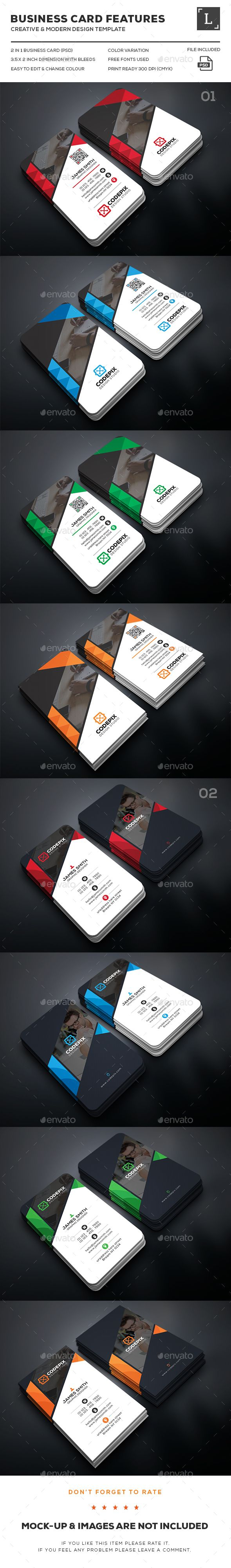 Business Card Bundle Templates PSD. Download here: http://graphicriver.net/item/business-card-bundle/16073031?ref=ksioks