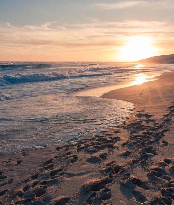 Beautiful Sardinia Bay beach sunrise, Port Elizabeth