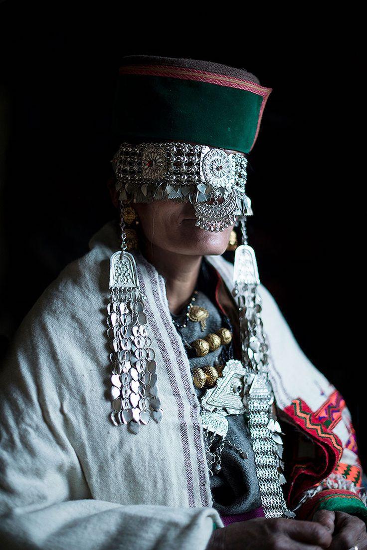 Woman from the Kinnaura tribal community.