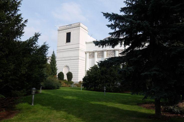 Polish Sejm building in Warsaw in wchich Romuald Miller took part in designing in 1920-s.