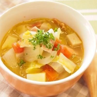 食べるほど痩せるハーバード大学式野菜スープのレシピ効果