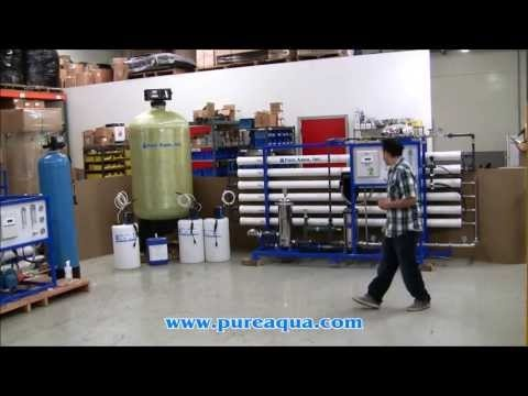 http://www.pure-aqua.com/reverse-osmosis-systems.html : Pura Aguamarina y suministramos Sistema de Ósmosis Inversa Para Agua Salobre para una empresa de tratamiento de agua principal en Jordania. Su producción 27,000 GPD.