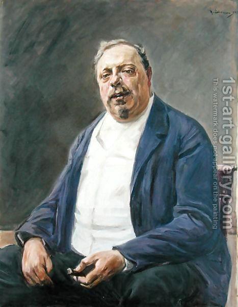 Baron Alfred von Berger, 1905 - Max Liebermann