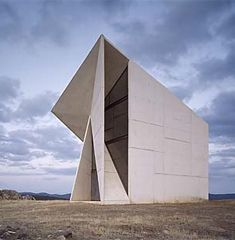 Wonderful This Unusual, Yet Beautiful Chapel Designed By Sancho Madridejos  Architecture Office Is Located On Top Of A Small Hill In An Arid And  Isolated Place Of Great Ideas