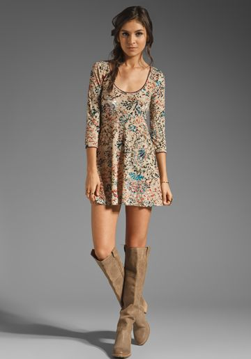 obsessed. the dress. the boots. love.