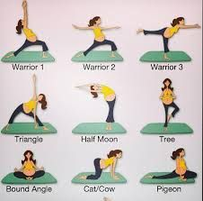 Yoga posses for pregnant women