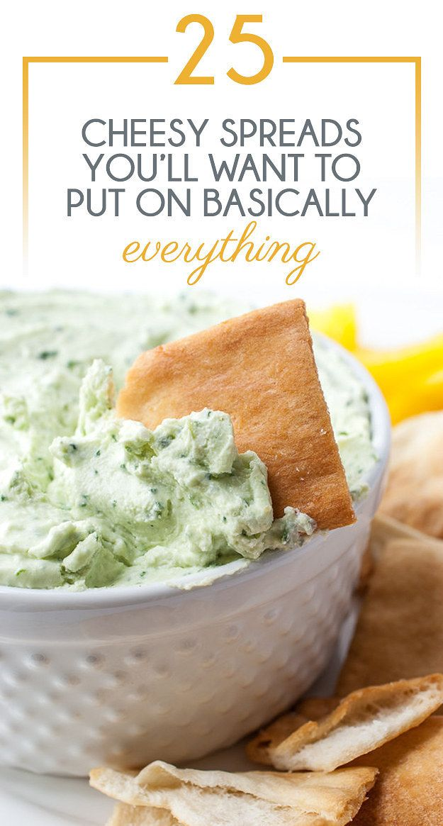 25 Cheesy Spreads You'll Want To Put On Basically Everything