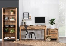 Indiana 3 Piece Office Package | Super Amart