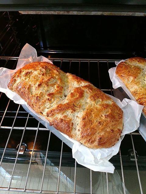 Pão de Parmesão com Alecrim