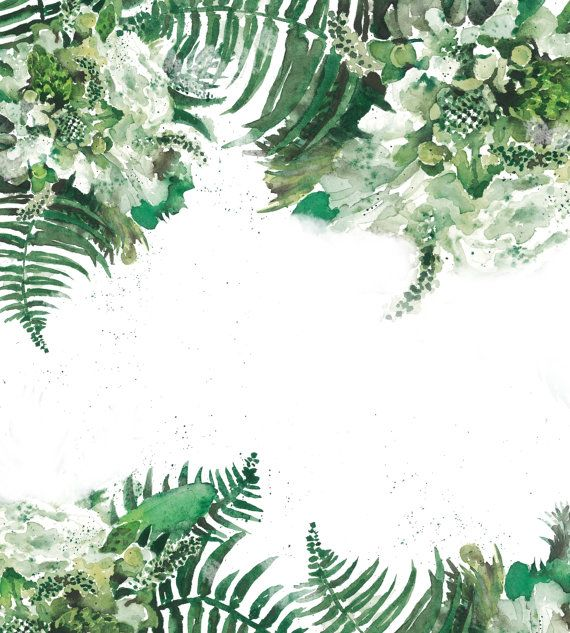 Tropical Green Leaf Removable Wallpaper Leaves by loveCOLORAY