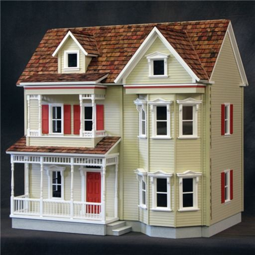 Country Victorian Dollhouse By Real Good Toys Miniatures Com