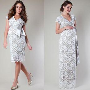 Vestidos para embarazadas invitadas a una boda de primavera verano #moda #fashion