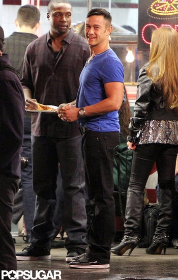 Joseph Gordon-Levitt Underwear | Joseph Gordon-Levitt on the Set of Don Jon's