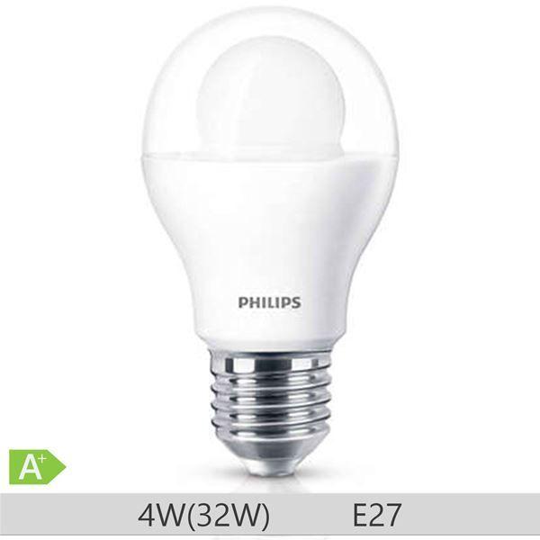 Bec LED Philips standard 32W A60 E27 lumina calda 230V clar ND/4 http://www.etbm.ro/tag/148/becuri-led-e27