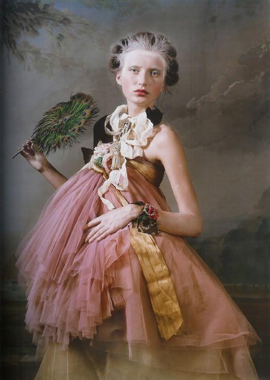 "Lush Magazine ""Marie Antoinette"" photography by Bernard Tartinville"