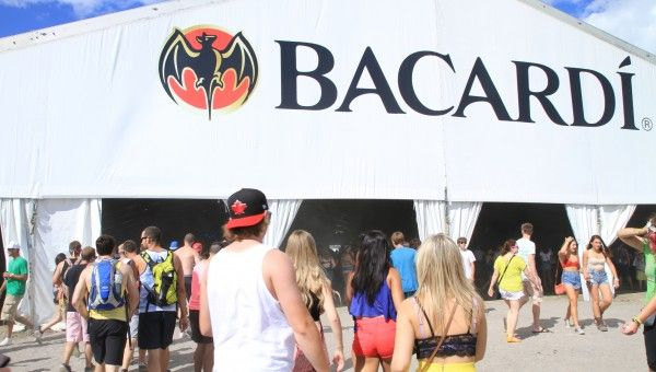 The Bacardi Tent at #VELD Fest