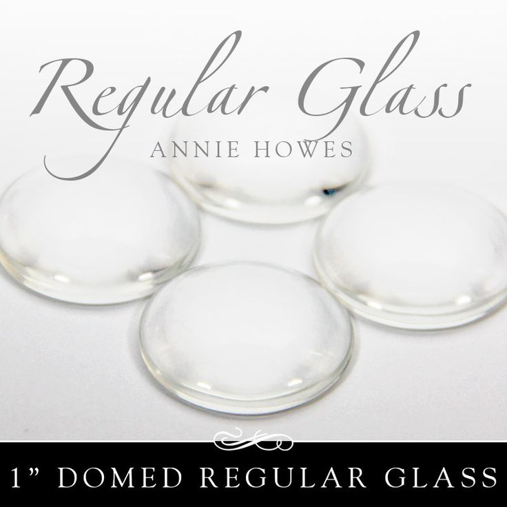 New to AnnieHowes on Etsy: 1 in clear circle glass tiles. Regular Domed Clear Glass Tiles for Pendants and Magnets. 25 Pack-UB. Annie Howes (4.00 USD)