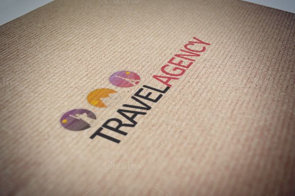 Travel agency logo template by Beatriz Gascón on Creative Market