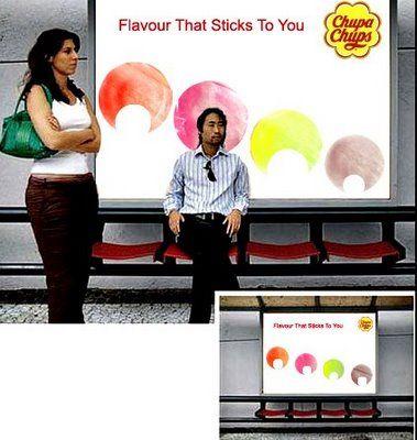 Ad campaign Chupa Chups
