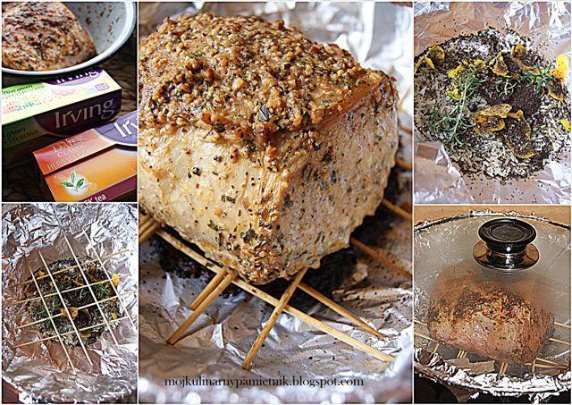 Bernika - mój kulinarny pamiętnik: Schab, wok, herbata czyli domowe wędzenie