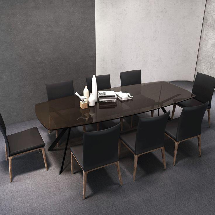 Cityside Furniture - METEROPOLITAN DiningTable 2.4M With EVA Chairs, $4,699.00 (http://citysidefurniture.com.au/meteropolitan-diningtable-2-4m-with-eva-chairs/)