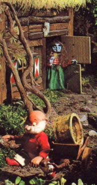 Paulus the woodgnome, this was on the telly when I was young no one really remembers it but I found this image