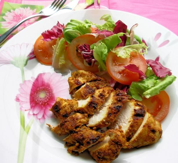 Herb and Spice Crusted Baked Chicken Breasts – 5:2 Fast Diet recipe (180 cals) v | Most Popular Pins