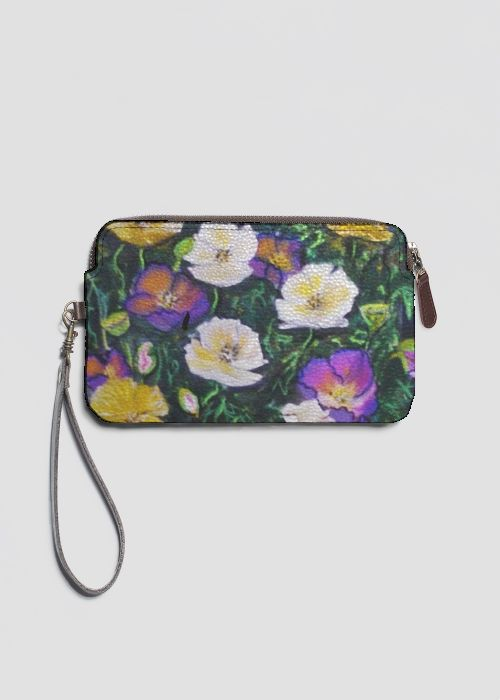 Statement Clutch - Red Flowers by VIDA VIDA YGKUhv