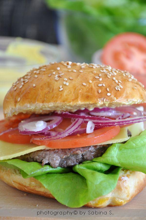 Molto Oltre 25 fantastiche idee su Panini con hamburger fatti in casa su  JP34