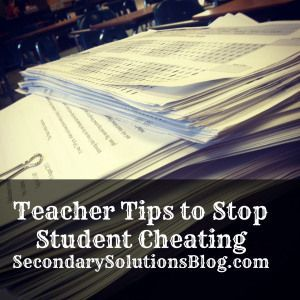 Stop the Cheating!