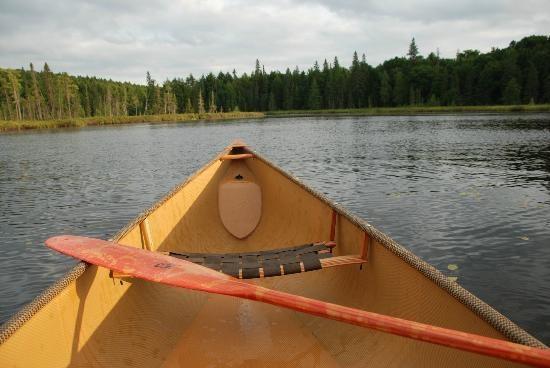Algonquin Provincial Park: Paddling on Canisbay Lake