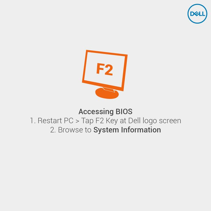 Verifying your #Dell PC's hard drive is recognized by the #BIOS. #DellTips