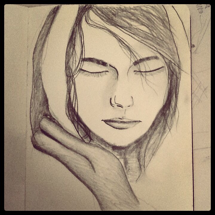 Despiadada - Veronica Reynal - dibujo a lapiz negro