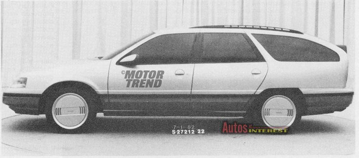 1986 Ford Taurus / Mercury Sable Wagon - Jul. 1982