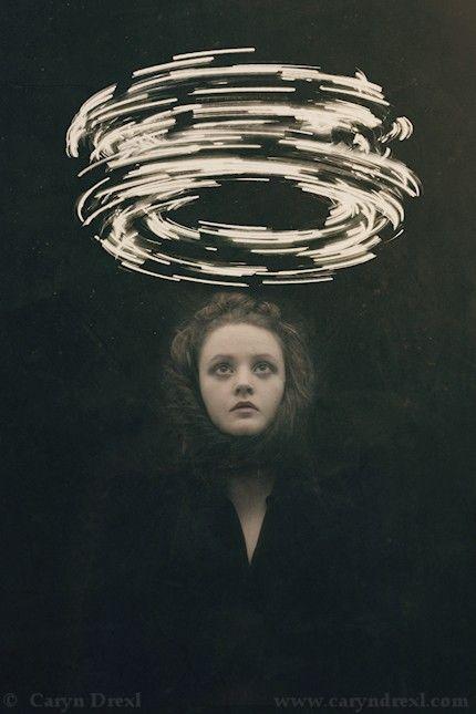 Conjuring - FREE SHIPPING Surreal Photo Print Dark Art Magic Creepy Portrait…