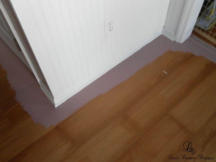 best 25 painting laminate floors ideas on pinterest diy. Black Bedroom Furniture Sets. Home Design Ideas