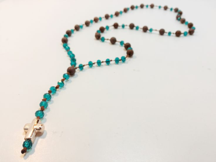 Old time classic...Rosary Necklace!!!Learn now how to make it only in 8 minutes!Only at e-xantra.gr
