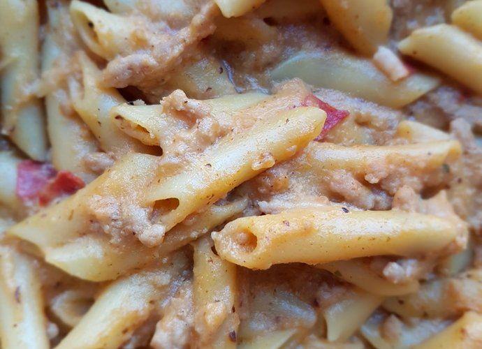 Macarrones boloñesa T&T para #Mycook http://www.mycook.es/cocina/receta/macarrones-bolonesa-t-t