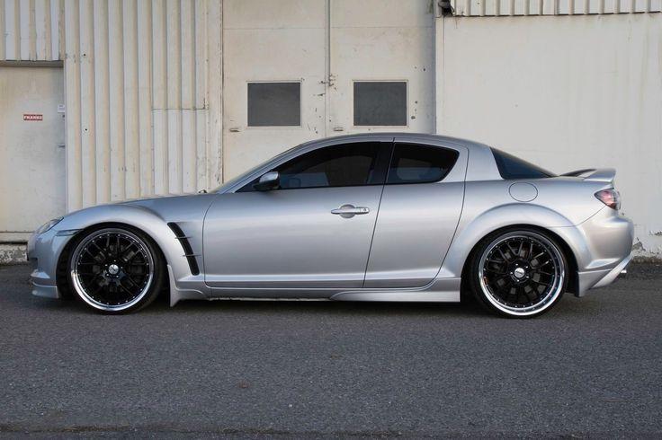 #Mazda_Rx8 #TSW_Wheels Valencia #Slammed #Stance