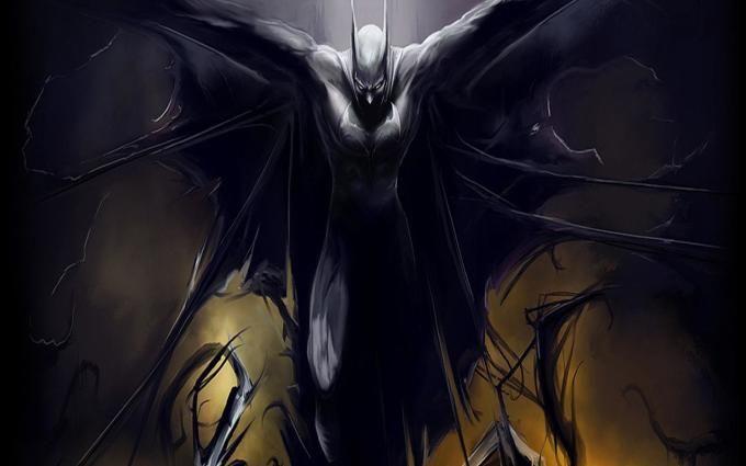 batman evil wallpaper