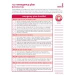 Emergency Plan checklist