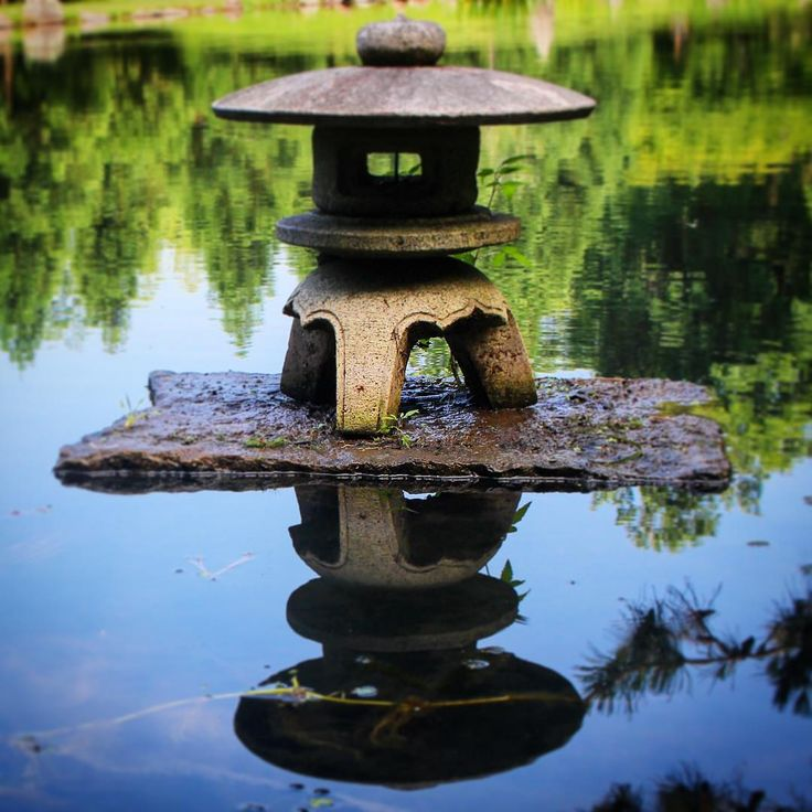 2265 best japanese lamps stone lantern images on for Japanese landscape lanterns
