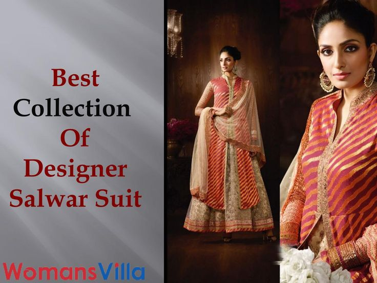 Designer Salwar Suit Collection April 2017